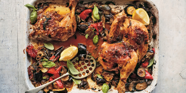 Ratatouille Sheet Pan Chicken