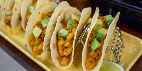 Salsa Turkey Tacos