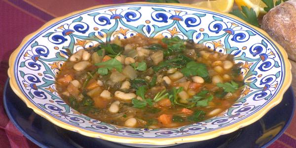 Padma Lakshmi's Ribollita (Italian Vegetable Soup)