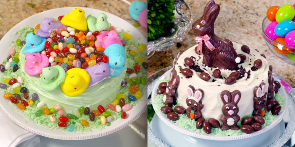 Sandra Lee's Easy Easter Cakes 2 Ways