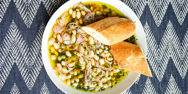 Easy Marinated Beans