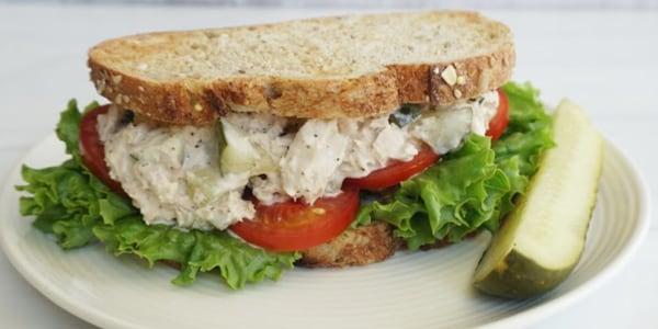 Tuna Salad with Mayonnaise