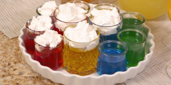 Sandra Lee's Fancy Dessert Jell-O Shots