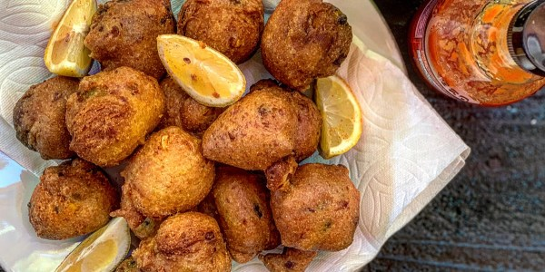 Green Chile Hushpuppies