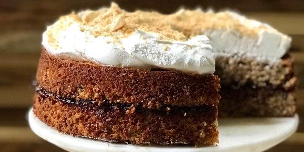 Elsie's Famous Graham Cake