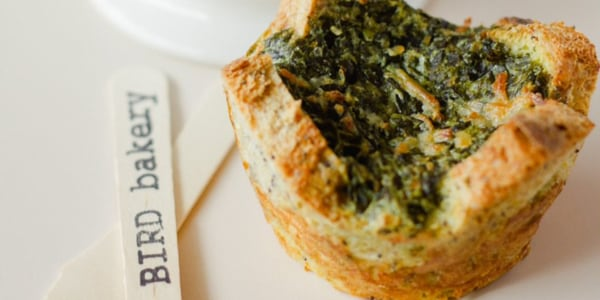 Spinach-and-Artichoke Popovers