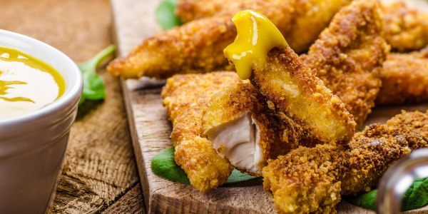 Jeff Mauro's Honey-Nut Cereal Chicken Fingers