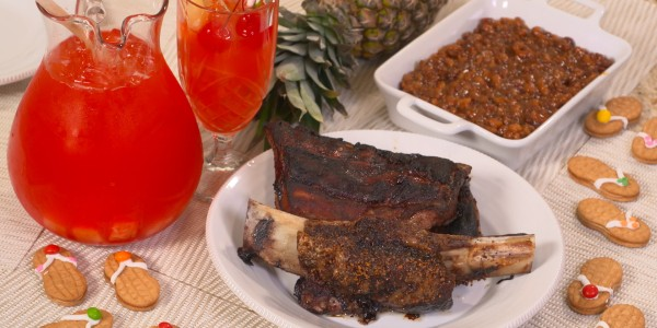 Sandra Lee's Barbecue Ribs