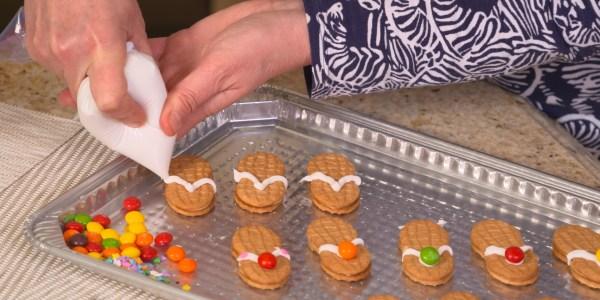 Sandra Lee's Summer Sandal Cookies