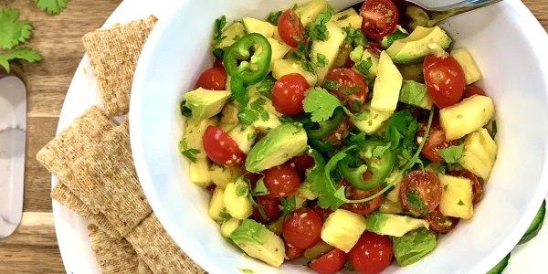 Joy Bauer's Pineapple-Avocado Salsa