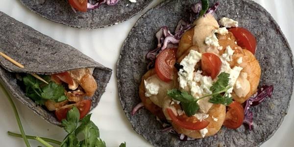 Soy-Marinated Shrimp Tacos