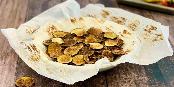 Joy Bauer's Zucchini Chips