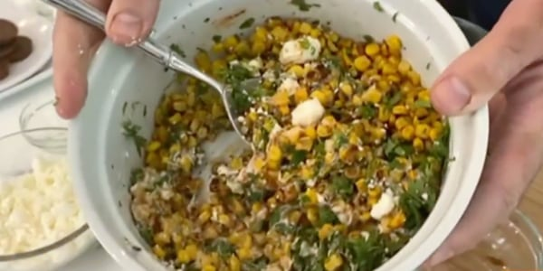 Carson Daly's Off-the-Cob Mexican Street Corn