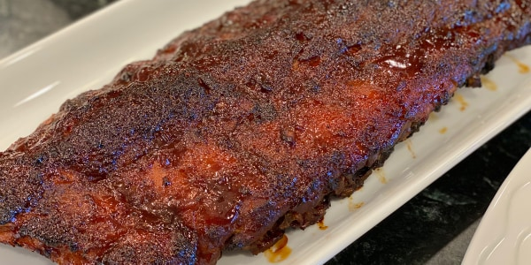 Oven-Barbecued Baby Back Ribs