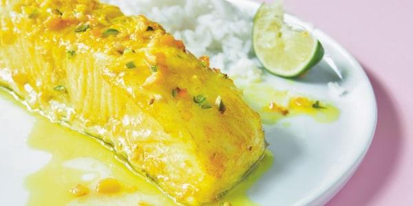 Priya Krishna's Orange-Peel Fish