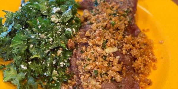 Anne Burrell's Kale Caesar Salad
