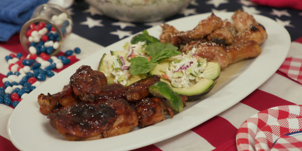 Sandra Lee's Easy Barbecue Chicken 2 Ways