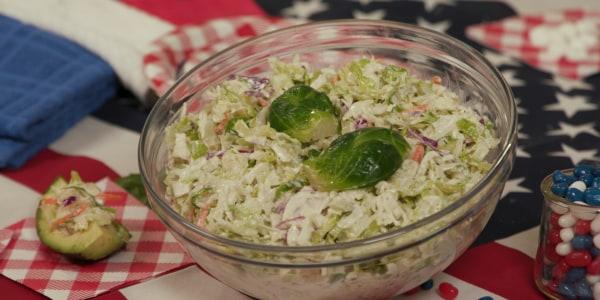 Sandra Lee's Easy 4 Ingredient Coleslaw
