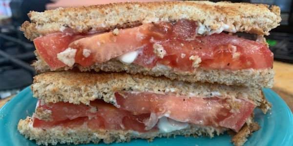 Tabitha Brown's Tomato Sandwich