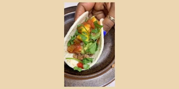 Tabitha Brown's Pecan Tacos