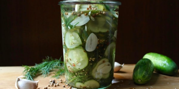 Easy Dill Pickle Chips