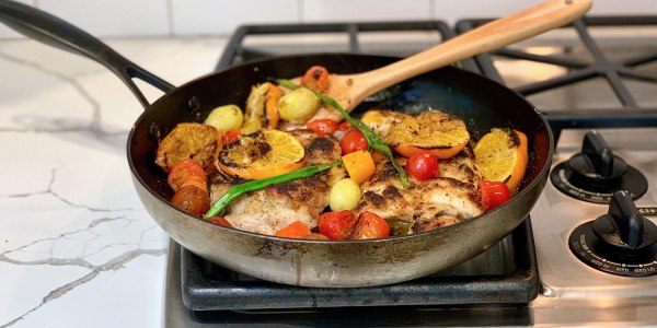 Joy Bauer's One-Skillet, Margarita-Glazed Chicken