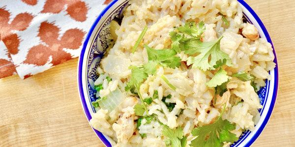 Black Pepper Shrimp Fried Rice