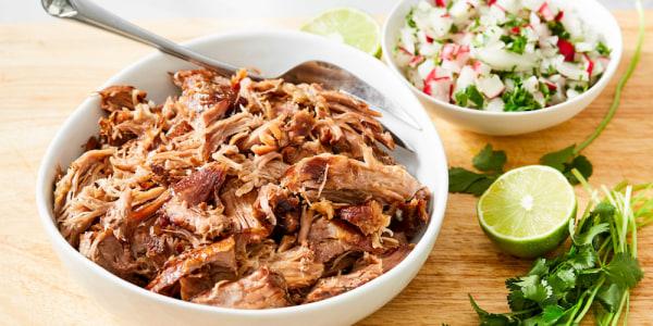 4-ingredient slow cooker Kalua Pulled Pork