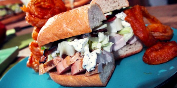Alex Guarnaschelli's Turkey, Apple and Avocado Sandwich