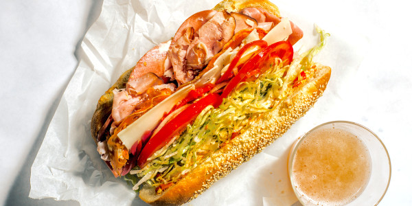 Curtis Stone's Grinder Sandwich