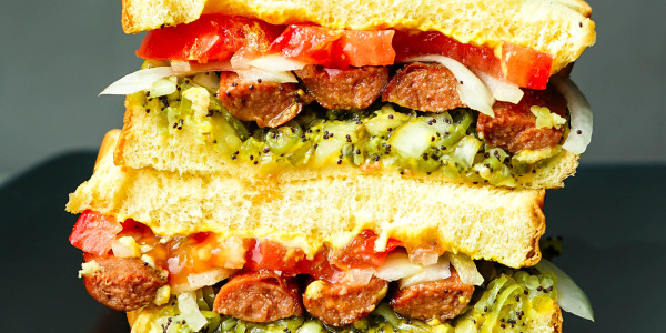 Elena Besser's Chicago-Style Hot Dog Sandwich