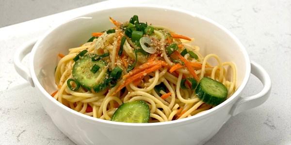 Miso-Sesame Noodles