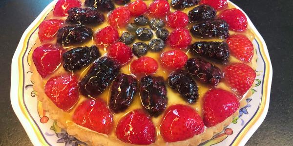 Valerie Bertinelli's Mixed Berry Tart
