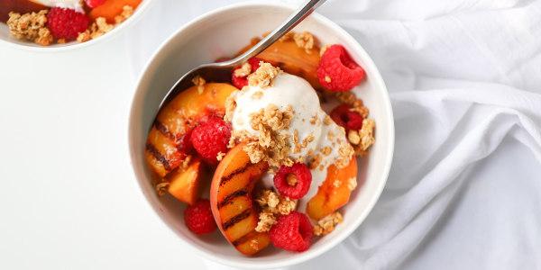 Joy Bauer's Peach Melba