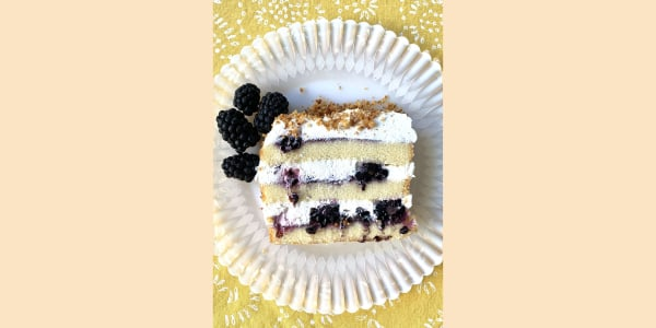 The Pioneer Woman's Blackberry Icebox Cake