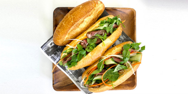 Curtis Stone's Steak Banh Mi