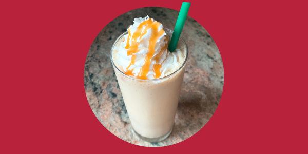 Copycat Caramel Frappuccino