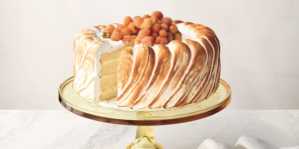 Martha Stewart's Lemon Mousse Cake