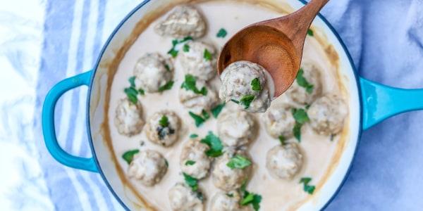 Joy Bauer's Savory Swedish Meatballs