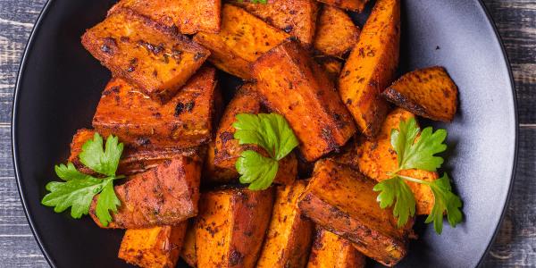 Nina Compton's Jerk Sweet Potatoes