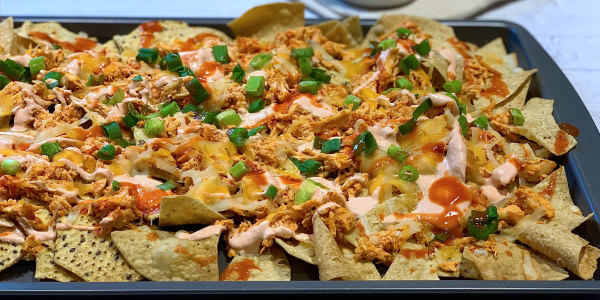 Joy Bauer's Buffalo Chicken Nachos