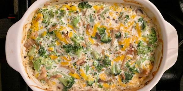 Broccoli-Cheddar Casserole