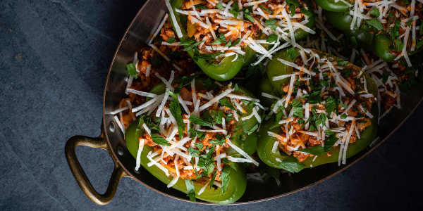 Heather Rae Young's Vegan Stuffed Peppers