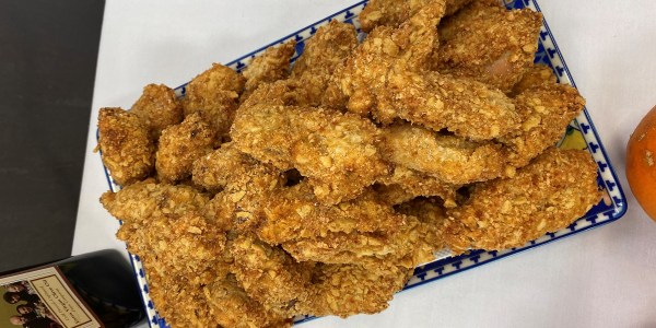 Fried Turkey Nuggets