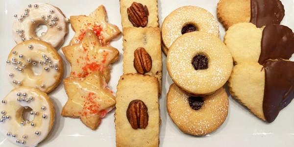 Ina Garten's Pecan Shortbread