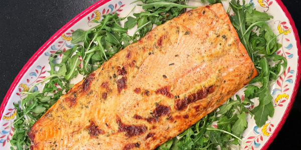 Valerie Bertinelli's Sheet-Pan Baked Salmon