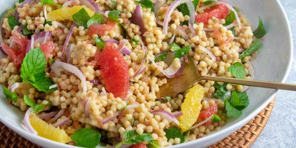 Giada's Fregola Pasta Salad with Citrus