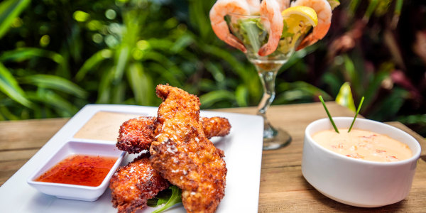 SeaWorld's Coconut Chicken Tenders with Spicy Citrus Dipping Sauce