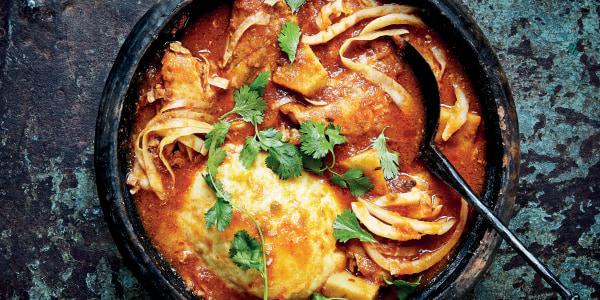 Nkrakra (Light Chicken Soup)