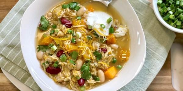 Joy Bauer's Slow-Cooker Salsa Verde Chicken Chili